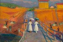 American Art and Artists / Includes painters who were born in other countries but immigrated to the U.S.