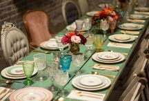 go set the table / pretty, creative and inspiring table setting ideas
