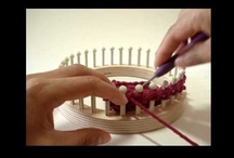 Loom Knitting and Weaving / I recently began loom knitting as something different from regular knitting and crocheting.  It's fun and easy and amazing what you can do. / by Gayle Alstrom