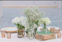 Wedding / Beautiful inspiration for wedding decoration, make up and dresses.