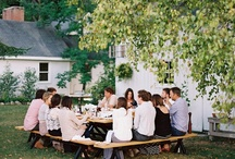 al fresco / because theres no better way to dine than to dine outdoors