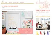 Blog Design / Beautiful examples of blog design and layouts