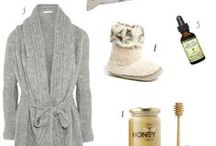 Sick Day Style / It's been shown that surrounding yourself with beautiful things makes you feel better. Why not make sure your sick day necessities are as cool and stylish as you?