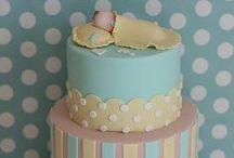 elegant baby shower cakes / by Elegant Baby