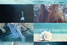 .ocean song. / .I'm actually a mermaid.