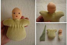Waldorf dolls / Handmade dolls' clothes & doll making tips
