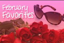 February Favorite Shades / My monthly favorite shades from Inspired Shades http://www.inspiredshades.com/