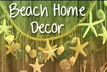Beach Home Decor / Beach inspired decorations for you entire home!