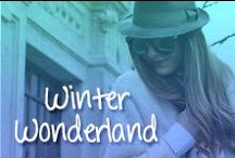 Winter Wonderland Shades / Think sunglasses are only for summer? Think again!