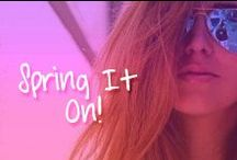 Spring it on with shades / cutest trends fashion and outfits for spring season!