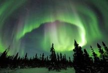 The Northern Lights Show / Stay awake for the late show. This captivating natural wonder will leave you mesmerized.