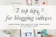 Blogging Tips / Tips for blogging including monetisation, organisation and inspiration.
