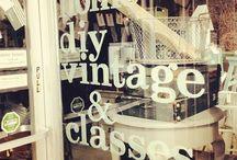 DIY, vintage, home / el & em- the shop...display & window vignettes, blog posts, instagram shares & more. el&em...a vintage, upcycled, handmade, mixed media, home decor, paint supply and DIY haven... located in Battle Ground, WA.