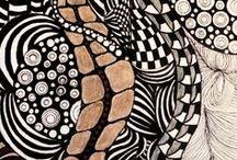 Zentangle/Op Art