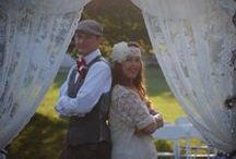 """My 1940s Fabulous Vintage Inspired War & Swing Era Themed Wedding: WindPoint Lighthouse, Racine / We finally had our fabulous 1940's themed wedding August 15, 2015 Racine Wisconsin, Windpointe Lighthouse and here are the pictures to see how this """"Real Wedding"""" turned out for me Trisha Trixie, 40's PinUp Model and Apron Maker !!"""