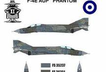 HELLENIC AIR FORCE  PAINT SCHEME / POLEMIKI AEROPORIA