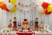 Elmo Inspired Birthday Party Ideas / Elmo Birthday Party Ideas Elmo Birthday Party Invitations Elmo Mouse Birthday Party Printables #Elmo #birthday #party #ideas