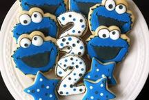 Cookie Monster Birthday Party / Cookie Monster Birthday Party Ideas Cookie Monster Birthday Party Invitations Cookie Birthday Party Printables #cookie #monster #birthday #party #ideas