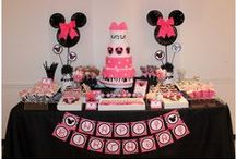 Minnie Mouse Decorations and Invitations