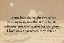 Tolkien love / by Kate Young