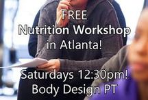 ALL about NUTRITION... / by Body Design Personal Training