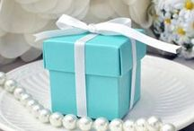 Tiffany Blue Themed Inspiration Board / Tiffany Blue color party inspiration for a birthday party, bridal shower, or baby shower!