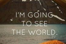 Around the World  / I'm going to see the world... / by SimplySiRi