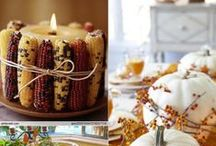 Thanksgiving Day Ideas / Great Thanksgiving Day food and table decor ideas.