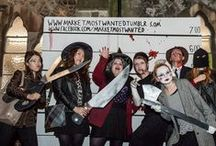 KU students at Stockmarket Halloween Night Market / Our Illustration students were part of the Halloween themed Stockmarket night market in Kingston town centre providing scares galore for the people of Kingston!  Like the picture you think is the most gruesome and we'll make it the album cover.