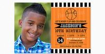 Basketball Birthday Party / Basketball birthday party inspiration and tips.