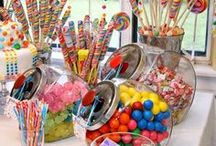Sweet Shoppe Candy Birthday Party / Sweet shoppe candy birthday party inspiration.