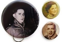Photo Buttons / Commemorate special people or events with a photo button