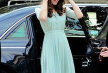 We love Kate / Kate Middleton trägt ja eigentlich alles mit Stil, aber Kleider trägt sie in Perfektion!