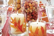 L'automne / Pumpkins, crisp air, red and yellow leaves, apple cider - all of my favorite things from my favorite season.