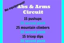 Working on my Fitness / Workouts and exercises