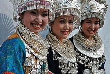 AROUND THE WORLD / Faces, Cultures, Costumes, Traditional Clothing, Ethnicities, Make up, Jewelry, Henna designs, Smiles, People from around the world, Children, Life.