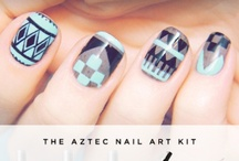 Nail Art / Nail art, Creative nail painting techniques, Colors.