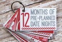 Date Night Ideas / Don't get stuck in a rut,these date night ideas will give you ideas for years.