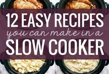 Slow Cooker Recipes / Collection of Slow Cooker Recipes so you can have tasty meals without all the work.