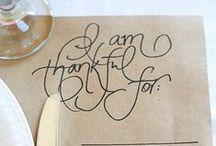 Acción de Gracias * Thanksgiving