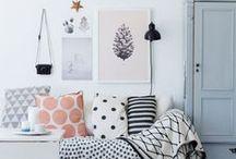 Decoração / Inspiração de decoração para quarto, sala, home office, cozinha, banheiro... para a casa toda!