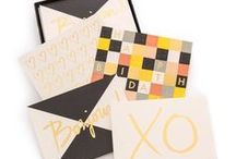 Design | Greeting Cards / Greeting card and post card layout, typographic style and  design ideas and inspiration.