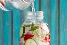 fruit infused water / by Jamie Haley