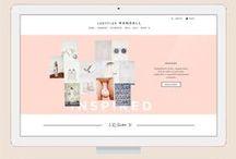 Sites / Designs de sites bonitos e plataformas criativas.