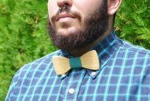 BIRDTIE / Original Wooden bow ties
