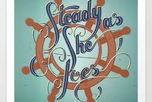 Jules Starr Design Hand Lettering / Hand lettering design and illustration from Jules Starr Design.