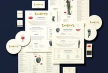 Design | Restaurant Branding / Logo, branding, visual identity, menu and collateral design.