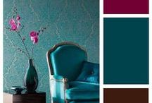 Mood | Color / Fun and inspiring colors and color combinations to set a mood. Plus tips about colors and color palettes.