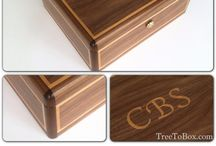 Letter boxes / Custom made wooden boxes for the letters you cherish.