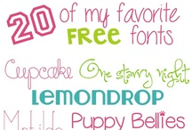 Free Fonts, Digital Clip Art / by Making Meaning with Melissa